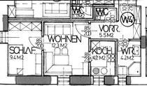 Wohnung 4 - 36,90 m2
