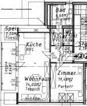 Wohnung 2 - 79,60 m2