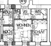 Wohnung 11 - 33,90 m2