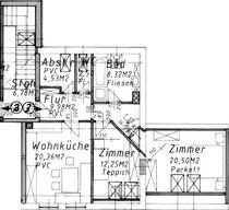 Wohnung 3 - 76,30 m2