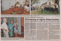 Weissenburger Tagblatt /  12. September  2011