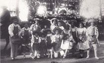 Albert Bausil et sa troupe