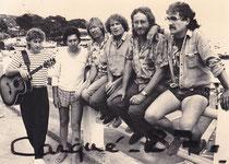 J-P Cacheux, J-Edouard, J-N Dupré, Germinal,Michel Roy ( port des Salettes - Carqueirane )