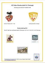 Ersttagsblatt der offiziellen Postmarke - Sonderstempel noch nicht bekannt