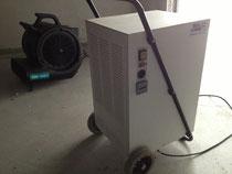 Trocknung mittels Kondenstrockner und Radialventilator - Ventilator