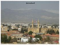 Blick vom Aussichtsturm Ledras Street