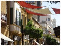 Ledras Street in Nikosia