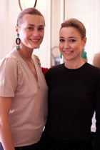 MICHELA BRUNI REICHLIN AND YASMIN LE BON