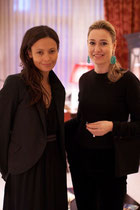 MICHELA BRUNI REICHLIN AND THANDIE NEWTON