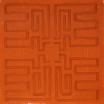 o.T. Tempera on Paper, 40x40cm, 2016