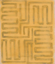 o.T. Tempera on Paper, 35x30cm, 2016