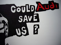 Could Audi save us 2/2 | Drawing on paper | 60 x 50 Cm.