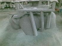 Recubrimiento de las ceras con cerámica