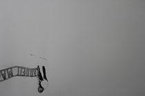 ARBEIT MACHT FREI / Graphite on paper / 50 x 60 / 2012