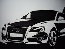 Could Audi save us 1/2 | Drawing on paper | 60 x 50 Cm.