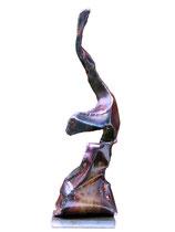 Radfahrender Fisch  2011, 52cm