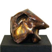 Liegender Kopf 2009, 35cm