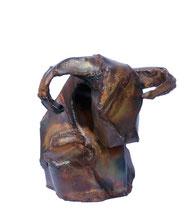 Sitzender Bulle 2013, 28cm