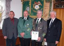 27. März 2010 Verbandsauszeichnung in Gold für Verbandsgeschäftsführer Gerd Brokelmann (2. v.r.)