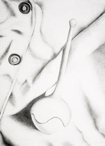 Das Wilde XIV, 2017. Graphite on paper. 72x100cm.