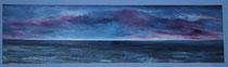 Sturmfront voraus, 2000 (Öl auf Leinwand, 150 x 40), Andreas Klußmann