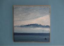 """""""Östlich Nordschillgrund"""" 2014 (Öl auf Leinwand 20 x 20)"""