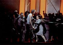 ... der Zorn der Gralsritter trifft Parsifal! (© Roger Paulet)