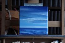 """Farn Deeps"" 2014 (Öl auf Leinwand 20 x 20)"