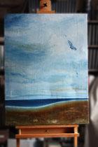 """Cardigan Bay"", 2013 (Öl auf Leinwand 60 x 80), Andreas Klußmann - verkauft"