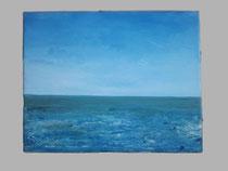 Nordsee, 1999 (Öl auf Leinwand 40 x 50), Andreas Klußmann