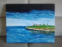 East Coast, 2008 (Acryl auf Leinwand 40 x 50), Andreas Klußmann - verkauft