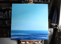 """Regatta"" 2013 (Öl auf Leinwand, 80 x 80) [VERKAUFT]"