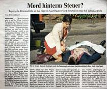 ... in der Saarbrücker Zeitung.