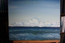 Ruhe vor dem Sturm, 1999 (Öl auf Leinwand 40 x 50), Andreas Klußmann