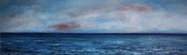 Kurs Biskaya, 2000 (Öl auf Leinwand, 150x40), Andreas Klußmann