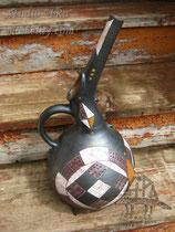 """10-04.  Керамический кувшин ручной работы """"Кипр""""."""