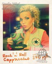 """15-13.  Чашка """"Rock'n'Roll"""" для ресторана fm cafe."""