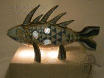 11-15.  Светильник «Рыба-Калуга».