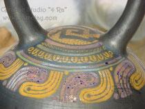 6-015.  Декоративный сосуд « Перуанец 4».
