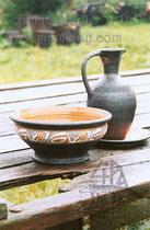 15-37.  Глиняная посуда для дачи.