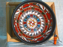 15-26.  Керамические тарелки ручной работы.