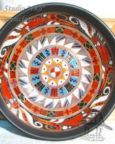 15-26.  Глиняные тарелки ручной работы.