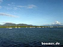 die Marina von Cairns