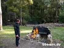 """""""Campfire"""" spendet Wärme und..."""