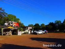Fatamorgana im Outback: Mc Donalds