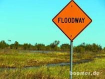 im weiteren Verlauf leider wegen Überflutung gesperrt