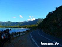 Ausblicke aufs Meer auf dem Captain Cook Highway