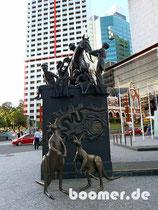 Skulptur am King George Square