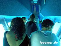 mit dem U-Boot gehts zu verschiedenen Korallen-Wänden