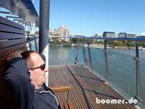 """Relaxter letzter """"Australien-Tag"""" in Brisbane"""